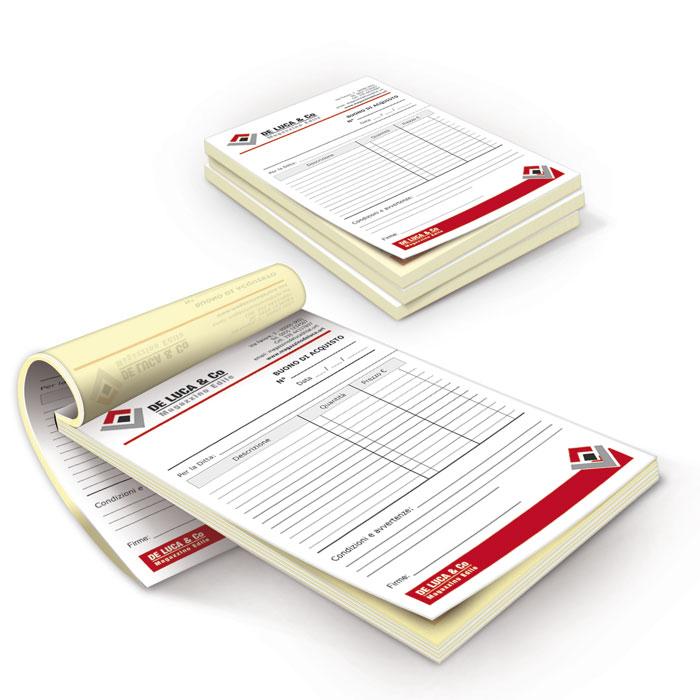 Blocchi copiativi standard - 2 copie