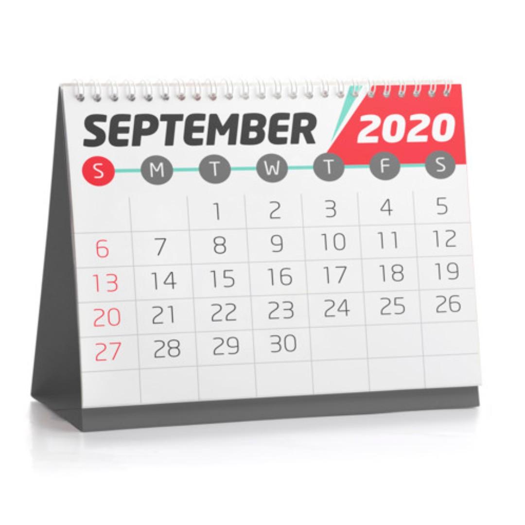 Calendari da tavolo aziendali stampa foglio per foglio