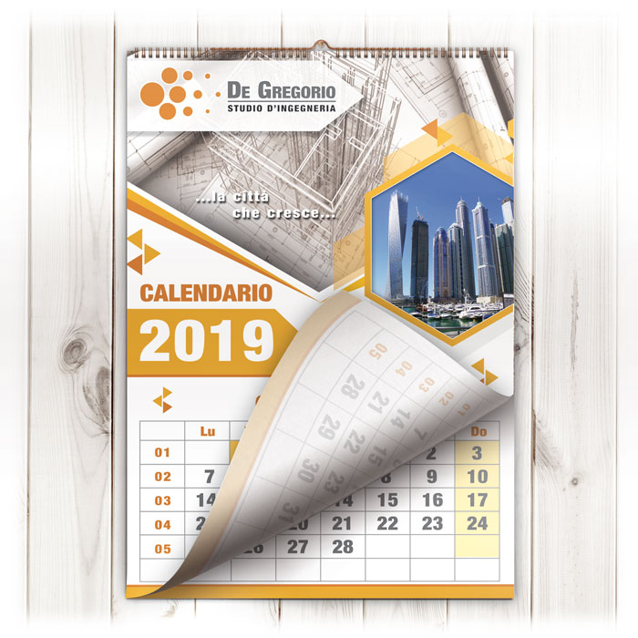 Calendari Da Muro con spirale su misura