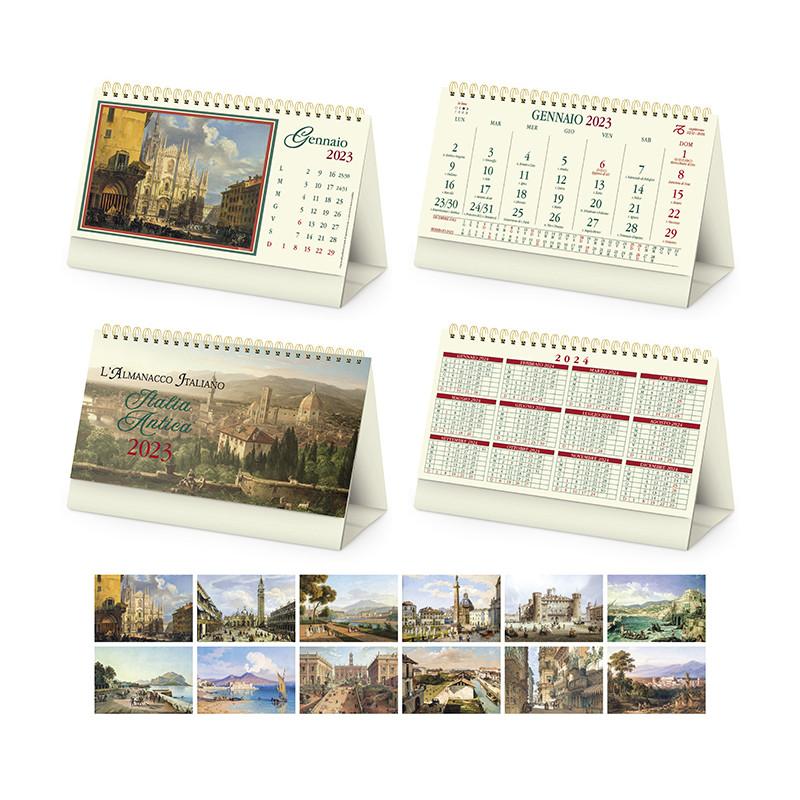Calendario da tavolo Italia antica pa064