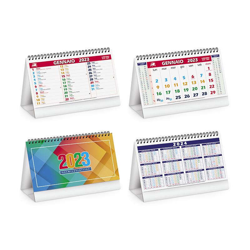 Calendario da tavolo classico multicolor pa705