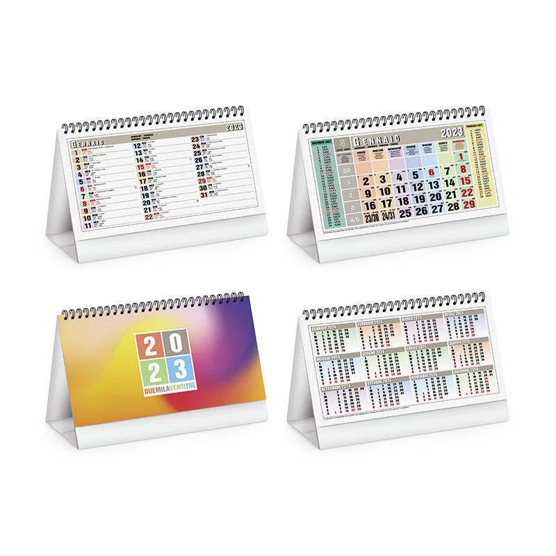 Calendario da tavolo classico mix pa730
