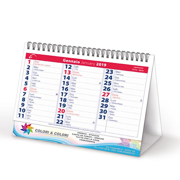 Calendario Da Tavolo Personalizzato Stampa I Tuoi Gadget Promozionali
