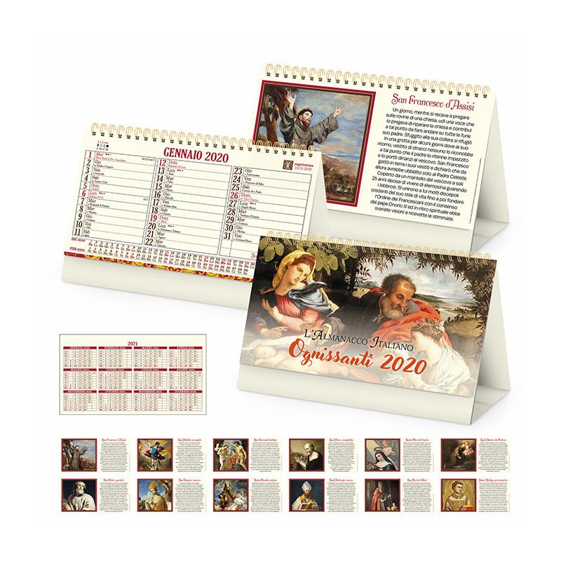 Calendari da tavolo santi PA061