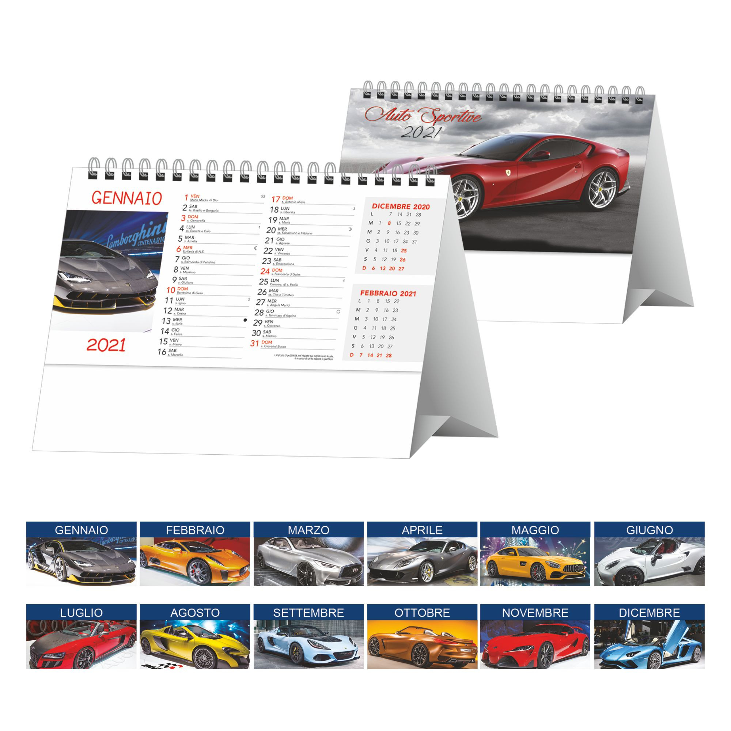 Calendario da tavolo Autosportive pa406 similare