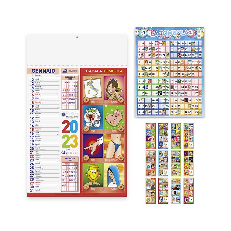 Calendario Cabala pa114