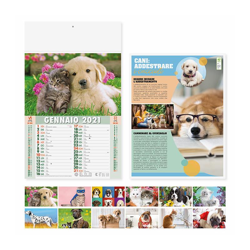Calendario Cani e gatti pa108