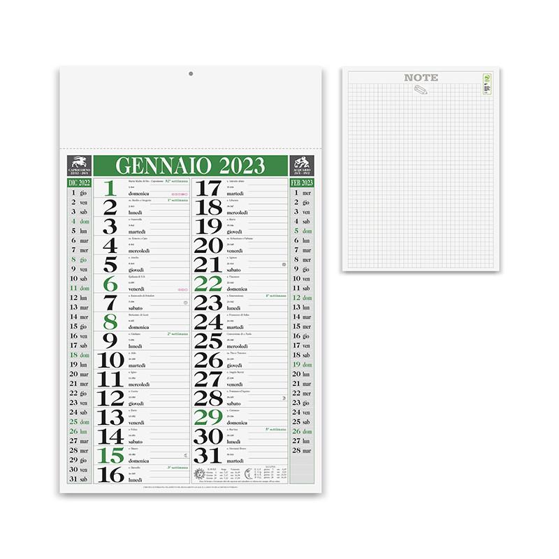 Calendario Olandese note pa640