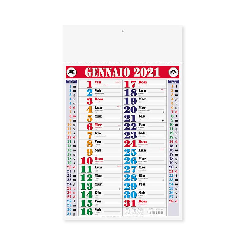 Calendario Olandese color pa656