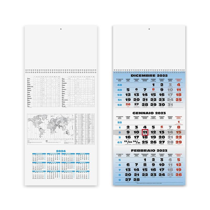 Calendario Trittico pa508