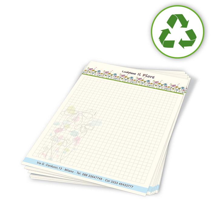 Carta da lettera riciclata