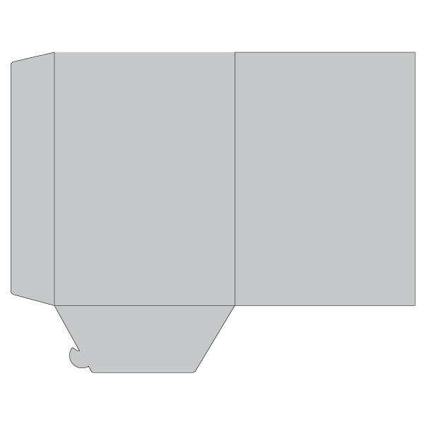 Cartelline portadocumenti con tasca alta