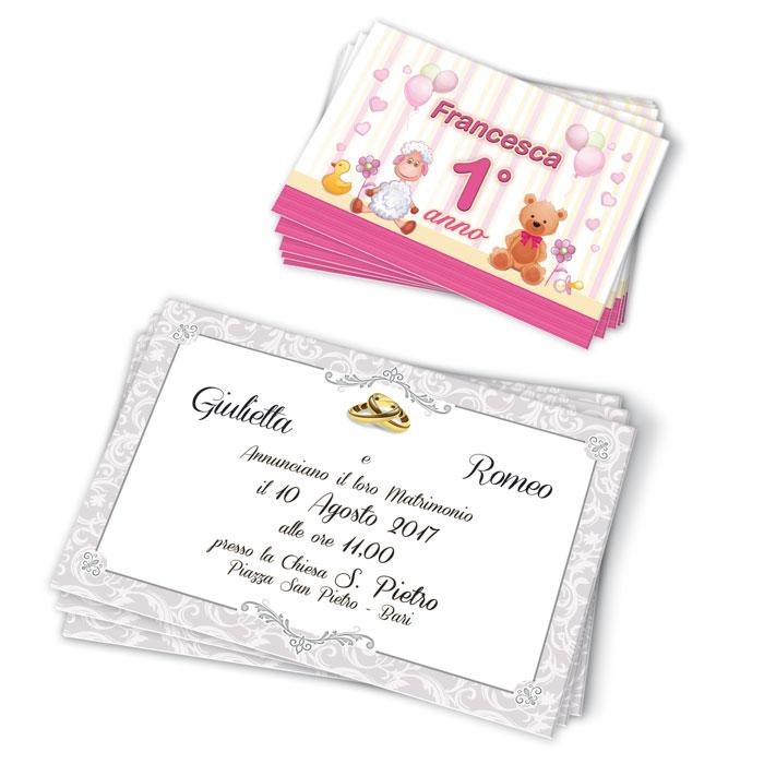 Cartoncini - Inviti