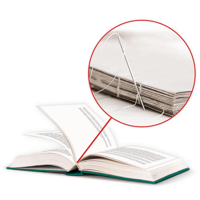 Libri brossura filo refe