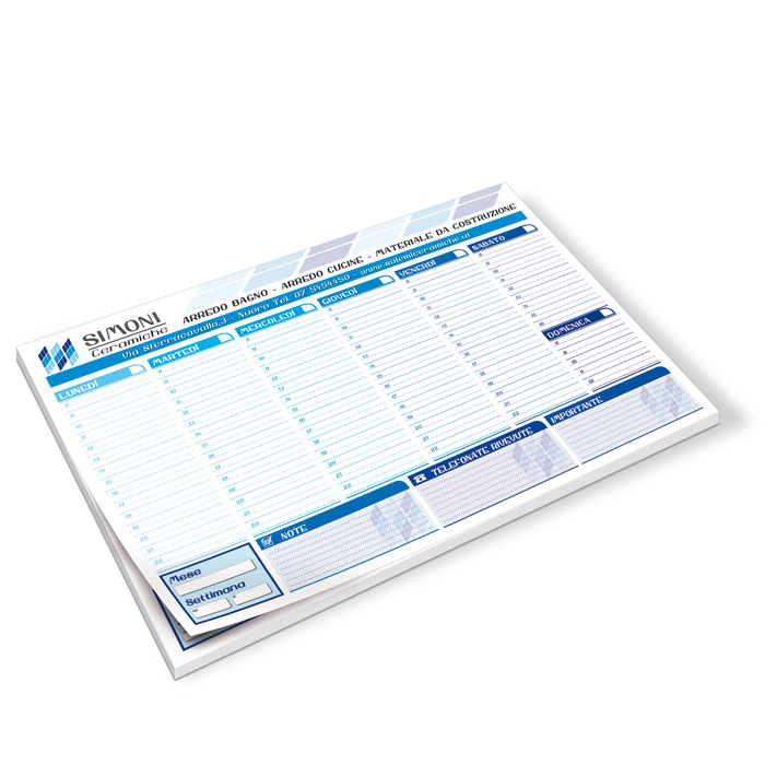 Planning da tavolo