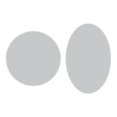 Volantini Rotondi e Ovali